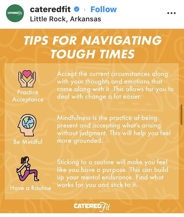 Tips for Navigating Tough Times